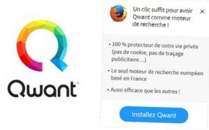 Qwant est disponible comme navigateur par défaut sur iOS