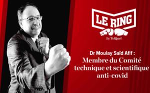Dr Moulay Saïd Afif monte sur Le Ring