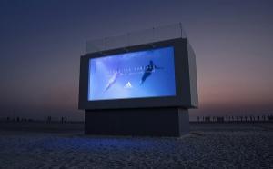 Dubai : Adidas lance une publicité sous forme de piscine