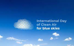 « Journée internationale de l'air pur pour des ciels bleus »