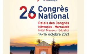 26 ème congrès national de cardiologue du 14 au 16 octobre 2021 à Marrakech