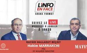 L'Info en Face reçoit Hakim Marrakchi