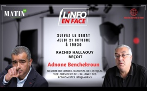 L'Info en Face du Le Matin TV reçoit Adnane Benchekroun