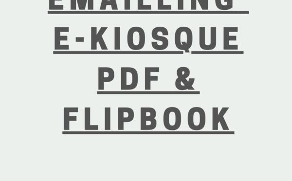 Régie Emailling e-Kiosque PDF & FlipBook