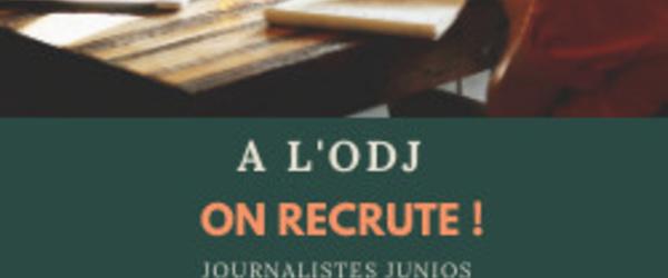 A L'ODJ , On recrute