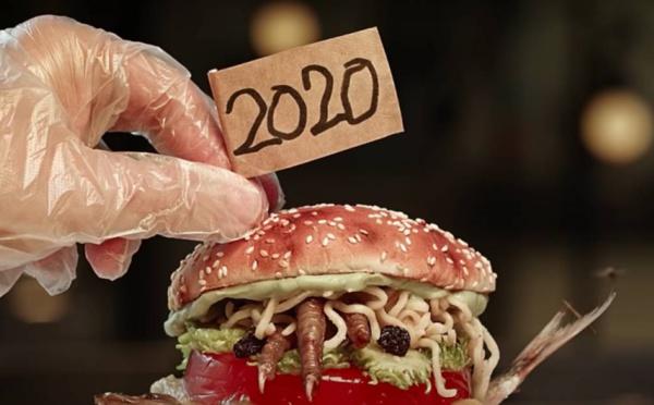 Burger King : Un burger repoussant et immangeable à l'image de 2020