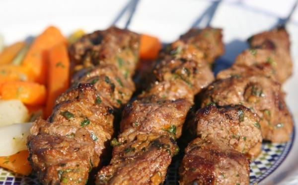 "Brochettes viande ""kebab"""