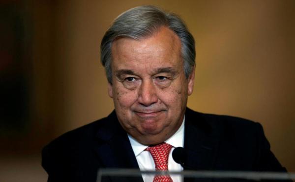 Antonio Guterres candidat à un second mandat à la tête de l'ONU