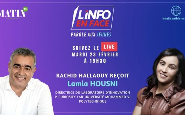 Lamia Housni, Directrice du Laboratoire d'innovation P-Curiosity Lab à l'Université Mohammed VI Polytechnique