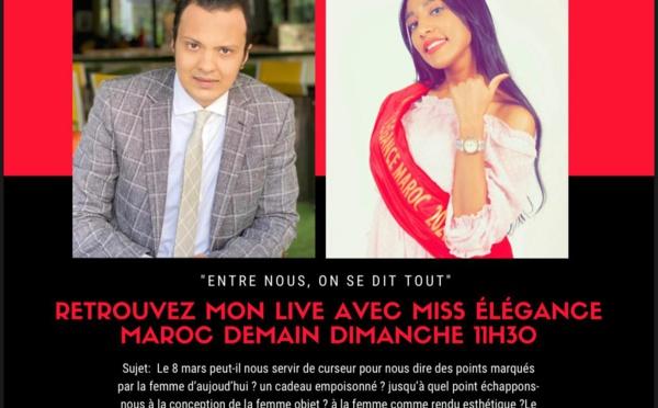 Miss élégance Maroc parmi nous