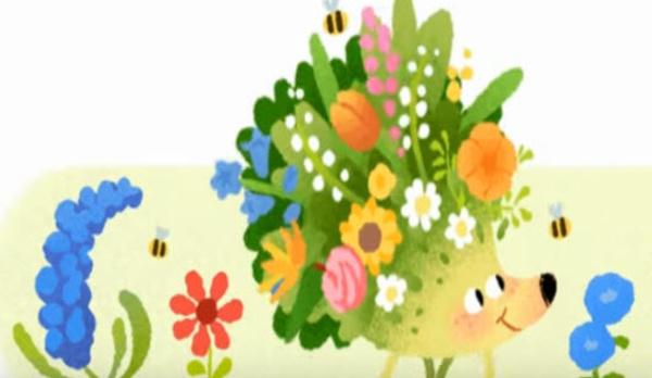 Google célèbre la saison printannière 💐🌻