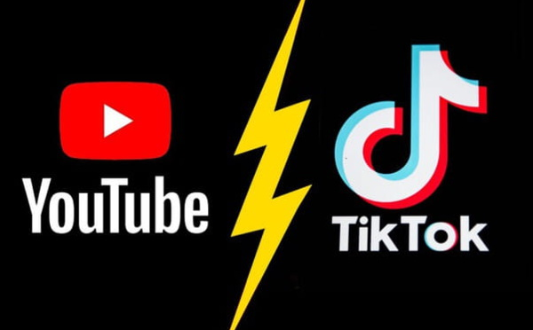 "Youtube imite TikTok avec sa nouvelle fonction ""Shorts"""