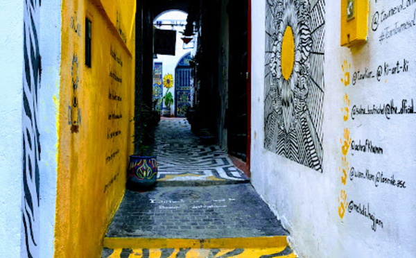 Du street art à Rabat