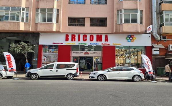 BRICOMA lance un nouveau concept de magasins