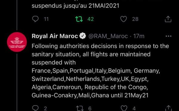 Les avions de la RAM ne voleront plus pour six semaines !