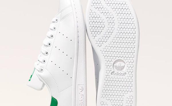 Adidas permet d'échanger des bouteilles en plastique contre des Stan Smith