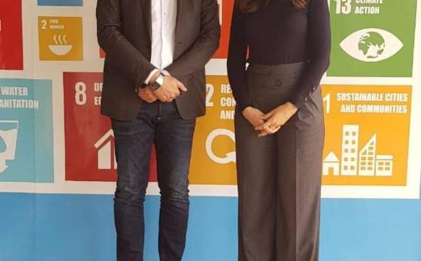 Mes sincères et chaleureuses  félicitations à Madame Hanan Hanzaz Fehri