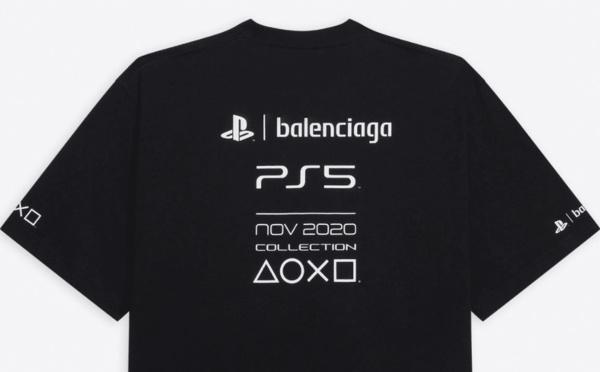 PS5 : Un t-shirt en collab avec Balenciaga plus cher que la console !
