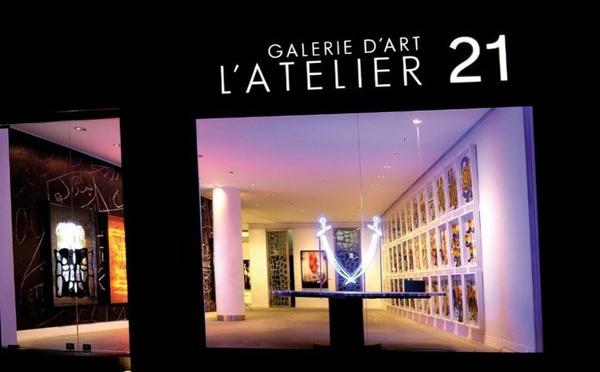 """Exposition collective """"Le feu qui forge"""" à l'Atelier 21"""