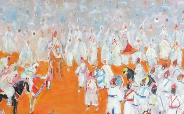 Vente aux enchères de sculpture marocaine et de peintures