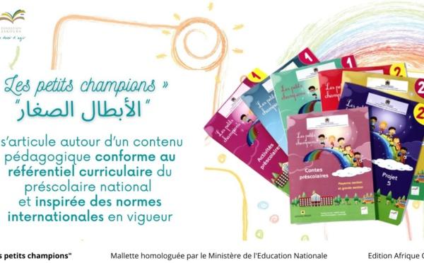 « Les petits champions », la mallette de préscolaire homologuée de la Fondation Zakoura