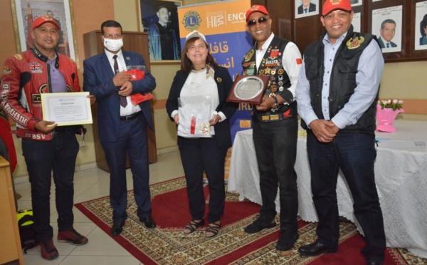 Caravane humanitaire des LIONS Club de l'ENCG Casablanca