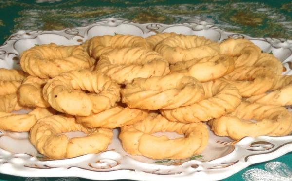 Biscuits sablés, « kikesses »