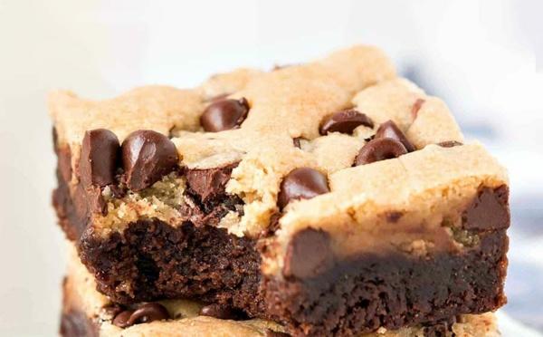 L'incroyable recette des cookies brownies au chocolat