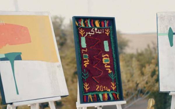 Lady Berbère : les tapis Zindekh exposés à Marrakech