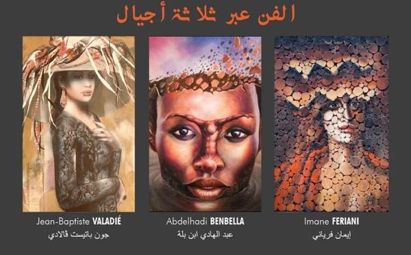 La galerie Bab El-Kebir accueille l'exposition 'l'Art à travers trois générations'
