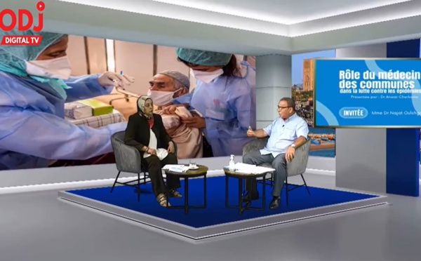 Carrefour santé : Invitée Mme Dr Najat Oulachgar sur le rôle et l'importance du médecin de commune