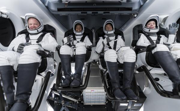 SpaceX : retour des premiers touristes spaciaux sur Terre