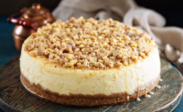Cheesecake aux noix