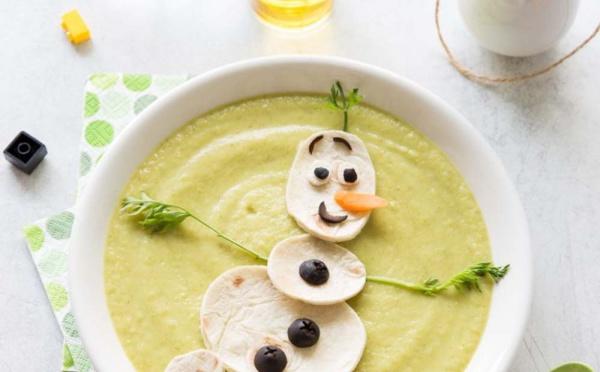Trois soupes d'automne pour les enfants