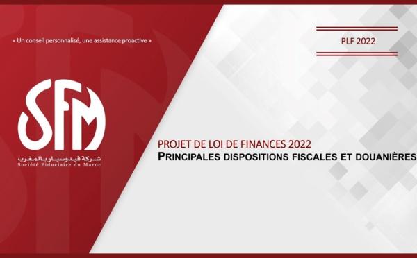 PLF 2022 : Principales dispositions fiscales et douanières