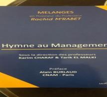 Vient de paraître : MÉLANGES en l'honneur du Professeur Rachid M'rabet