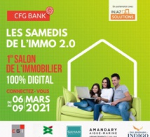 Maorc : CFG Bank lance le premier salon immobilier 100% digital