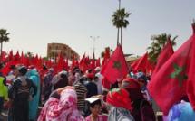 Manifestation des Marocains unionistes à Laâyoune