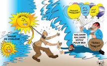 Vague de chaleur avec chergui et vagues de fausses promesses électorales !!!